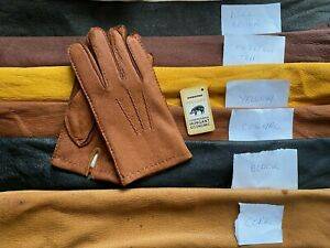 Men's Peccary Winter Leather Gloves Unlined