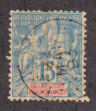 Guadeloupe - 1892 - SC 34 - Used