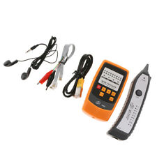 GM62 Wire Tracker,RJ11 RJ45 Line Finder Multifunction Handheld Cable Tester