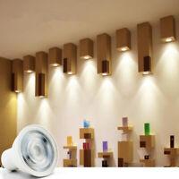 Dimmable GU10 COB LED Spotlight 6W MR16 Bulbs Light 220V White Lamp Down Ligh YK