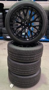 GENUINE 19 INCH FORD MUSTANG WHEELS WITH PIRELLI TYRES