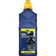 Aceite Putoline SUPER DX 4 | 20W-50 | Semisintetico | Moto | 1 litro | 4 tiempos