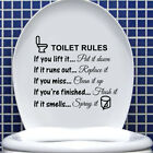 Funny Toilet Seat Sofa Chair Wall Stickers Bathroom Home Decoration Decacr