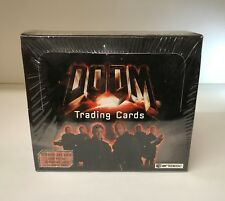 Doom Movie Dwayne Johnson The Rock - Sealed Trading Card Hobby Box - ArtBox 2005