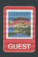 1979 Boston Backstage Pass Guest Euro Tour 79 Don't Look Back