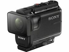Sony Hdr-as50 Action Camera With 60 M Waterproof Housing 3x Zoom SteadyShot and