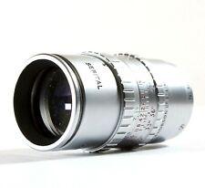 """Taylor Taylor Hobson 1.5"""" f1.9 Serital D-Mount Lens - 8mm Paillard Bolex Camera"""