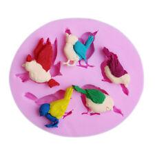 DIY Silicone Bird Mold Decorating Baking Tools Fondant Chocolate Cake MouldSC
