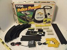 New listing TYCO POLICE PURSUIT Electric Racing Slot Car Track Set #6209  Not Complete