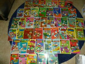 DONALD DUCK MIX LOT ALL KINDS OF GRADES GDVG TO FN