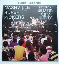 NASHVILLE SUPER PICKERS - Live From Austin City Limits -Ex LP Record Flying Fish