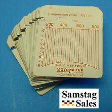 MotoMeter 513 412 5500 Charts - Pack of 100 Diesel 150 - 850 p.s.i.