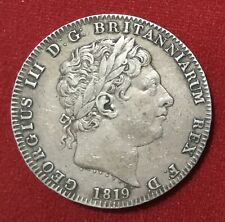 More details for 1819 george 3rd crown lix edge