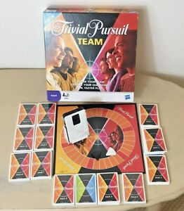 Trivial Pursuit Team by Hasbro / Parker 2009 100% Complete - Much still sealed