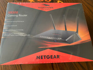 NETGEAR XR300-100NAS Nighthawk Pro Gaming WiFi Router Sealed! Free Shipping!