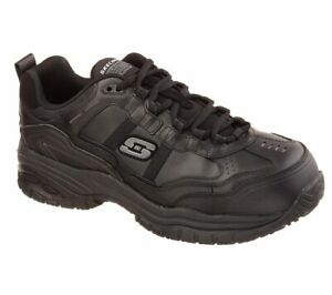 Skechers Work Relaxed Fit: Soft Stride Grinnell Comp Shoes Mens Safety 77013EC