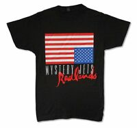 Mystery Jets Radlands Upside Down Flag Mens Black T Shirt New Official Adult
