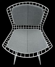 Knoll Style 2 Piece Cushion for Bertoia Side Chair - Mid Century Decor