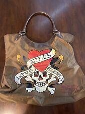 Ed Hardy Purse Handbag
