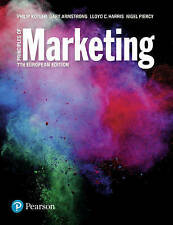 Principles of Marketing European Edition 7th ed by Kotler, Harris, Piercy, Arm..