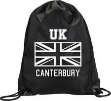 BACKPACK BAG CANTERBURY UK UNITED KINGDOM UNION JACK GYM HANDBAG SPORT M1