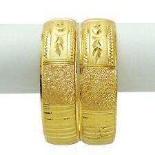 Traditional Bollywood Goldplated Bracelet Bangle Kada Set Wedding Jewelry 2*8