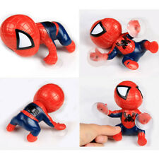 2pcs/set Red + Black Auto part Spider-man Doll Lovely Car Accessories sucker