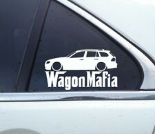 Lowered WAGON MAFIA sticker - for BMW E91 Touring 3-series