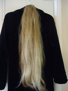 """26"""" Synthetic Blonde Pony Tail"""