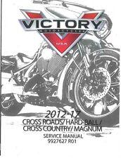 Victory Magnum & Magnum X-1 X1 2012 2013 2014 2015 2016 2017 service manual CD