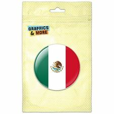 Mexico National Country Flag Pinback Button Pin Badge