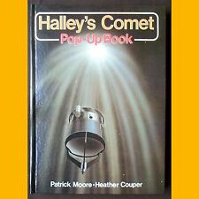 HALLEY'S COMET Pop-Up book Patrick Moore Heaver Couper Paul Doherty 1985