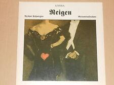 Arthur Schnitzler -Reigen - Gesammtaufnahme- 2xLP Litera (865 346/347)