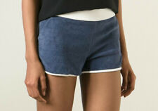 NWT $128 MARC BY MARC JACOBS Towel Shorts, Federal Blue / Ivory, Extra Small