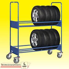FETRA Reifenwagen 4586 250 kg Tragkraft Reifentransportwagen Reifenregal