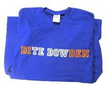 UF Gators BITE BOWDEN Tebow Blue Orange Tee T-Shirt Jerzees Size Medium