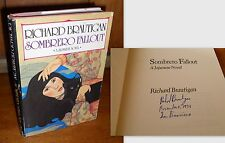 Signed First Edition ~ Sombrero Fallout: A Japanese Novel Richard Brautigan 1976