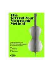 The Second-Year Cello Method Learn to Play Present Gift MUSIC BOOK Cello