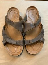 Keen Anatomic Footbed Brown Slide / Slip on Open Toe Sandals - Men's 10 US