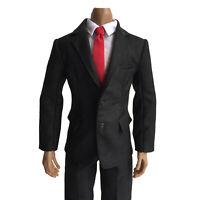 1/6 Male Jacket Hoodie Bag Pants Clothes for 12'' Phicen TBLeague Figure Body