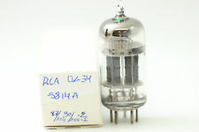5814A TUBE. RCA BRAND. SQUARE INCLINED GETTER. 3 MICA CRYOTREATED CH28V2F060716