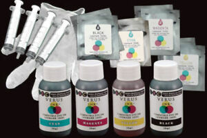 Refill Kit (Ink and Chips) for Lexmark 100XL type Cartridges