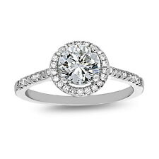 Sterling Silver Solitaire Engagement Ring, Round CZ, Size 7, Wedding Ring