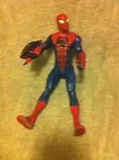 "10"" SPIDERMAN ACTION FIGURE--MARVEL COMICS--HASBRO--FREE SHIP--VGC"
