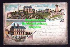 116162 AK Rippach Poserna 1901 Litho Bahnhof Gasthof Fasanen Höhe Gartenlocal Au