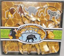 ZOO Themed Cookie Cutters by Fox Run  5 Pcs