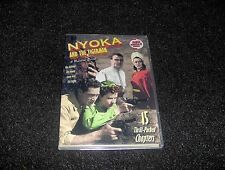 NYOKA AND THE TIGERMEN CLIFFHANGER SERIAL 15 CHAPTERS 2 DVDS