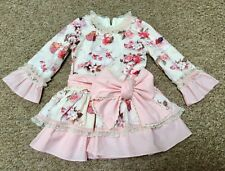 Bea Cadillac Dress,Age 4,Floral,Absolutely Stunning,Only Worn For A Few Hours!!