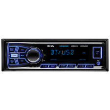 Boss 611UAB Single Din USB/SD AUX Radio Car Stereo Receiver Audio Bluetoooth