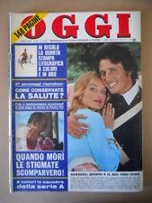 OGGI n°39 1973 Barbara Bouchet Chelo Alonso Tatum O' Neil   [C41]